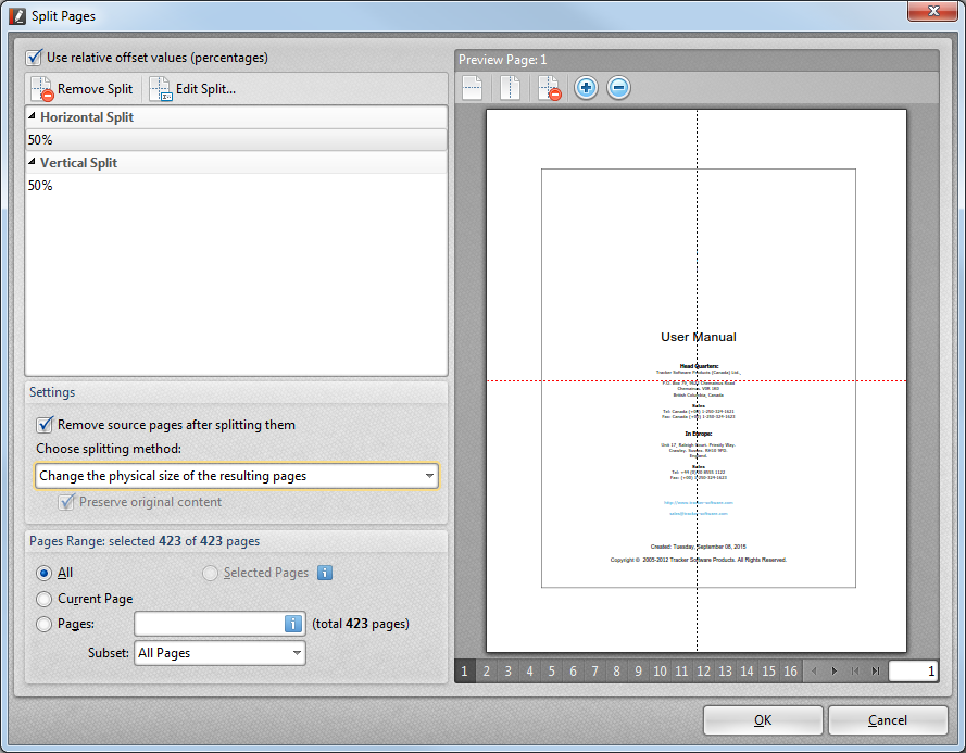 Client Manual > Features > Docsvault PDF Editor > Working with ...