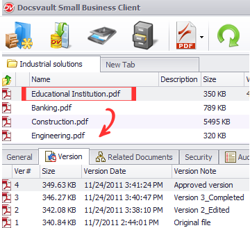How to Control Document Versions in Docsvault?   Document Management