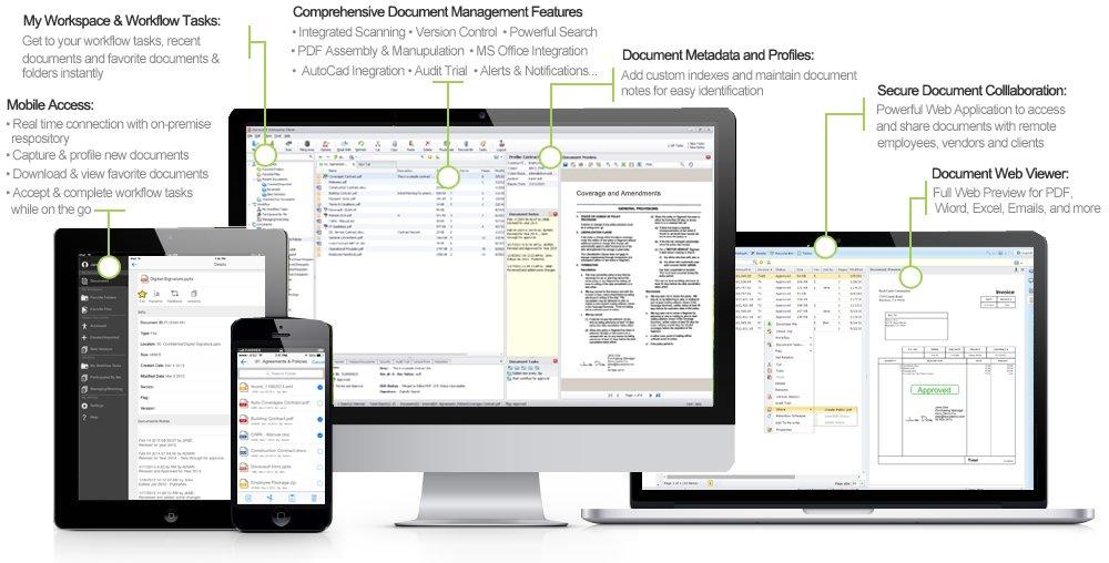 Document Management Capabilities