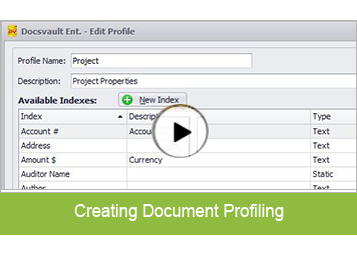 Create Document Profiling