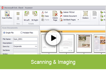 Document Scanning & Imaging