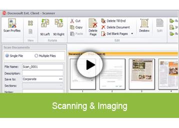 Document Scanning & Imaging
