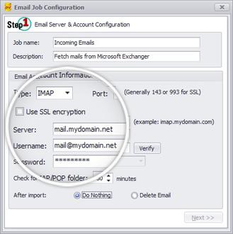 Email Capture Configuration