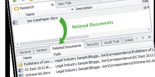Set Document Relations