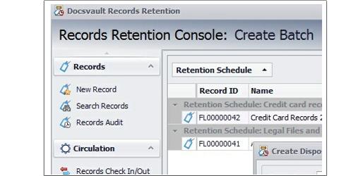 Document Retention