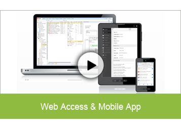 Web Access & Mobile App
